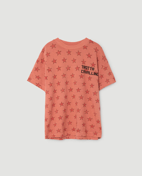 The Animals Observatory FW 17 Rooster T-shirt- Orange Star