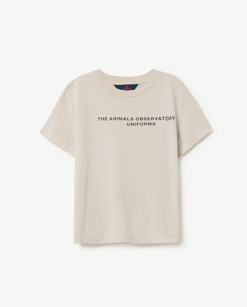 The Animals Observatory Rooster T-shirt- White TAO