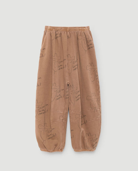 The Animals Observatory FW 17 Dromedary Kids Pants- Brown Hats