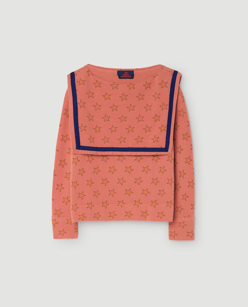 The Animals Observatory FW 17 Parrot Shirt Long Sleeve -Orange Stars