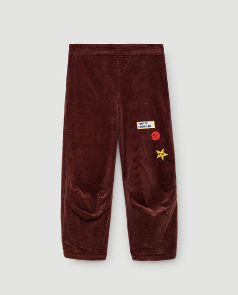 The Animals Observatory FW 17 Camaleon Pants- Red Garnet