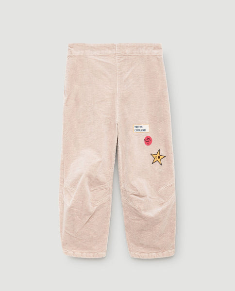 The Animals Observatory FW 17 Camaleon Kids Pants- Pink