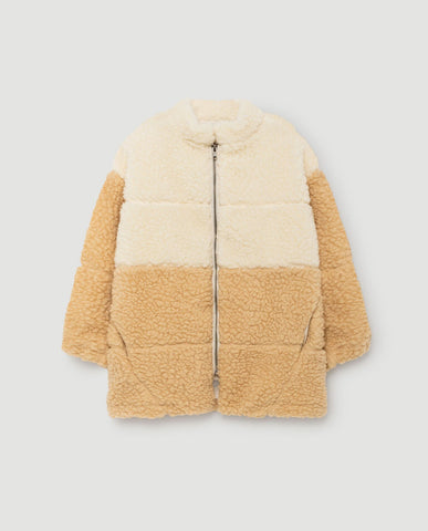 The Animals Observatory FW 17 Panda Jacket- Raw White