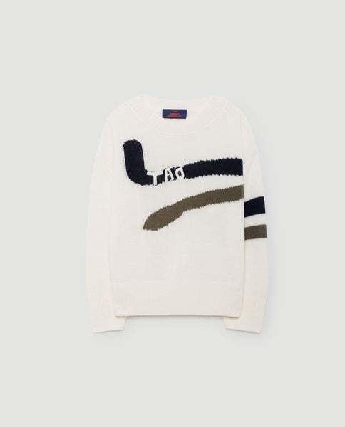 The Animals Observatory FW 17 Bull Kid Sweater-Navy Blue