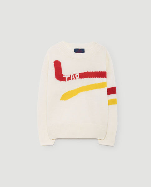 The Animals Observatory FW 17 Bull KIds Sweater- Yellow