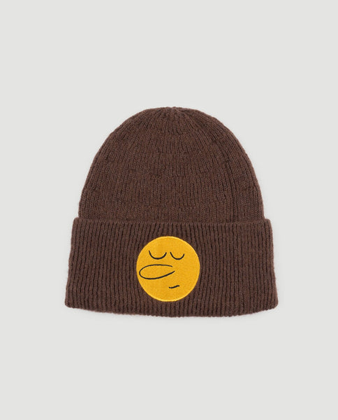 The Animals Observatory FW 17 Pony Kids Hat-Deep Brown Round Face