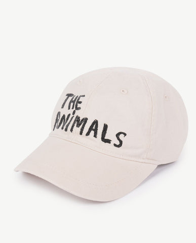 Sold Out The Animals Observatory FW 17 Hamster Kids Cap- Raw White Brand da486bb0682b
