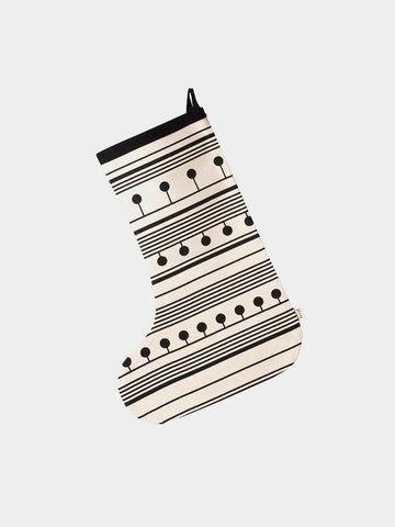 Ferm Living Winterland Stocking | Black