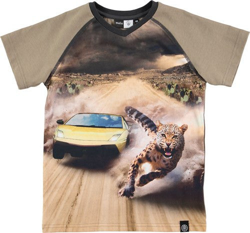 Molo Racer Racing Cheetah T-shirt