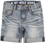 Molo Aaron Heavy Blast Denim Shorts [LAST ONE]