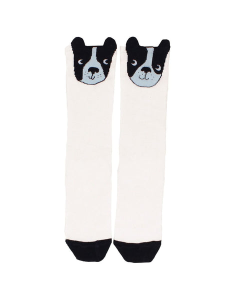 Tiny Cottons Moujik Face High Socks