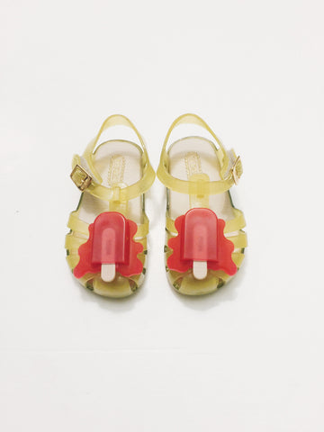 Mini Melissa AranhaViii Bb Flour Yellow