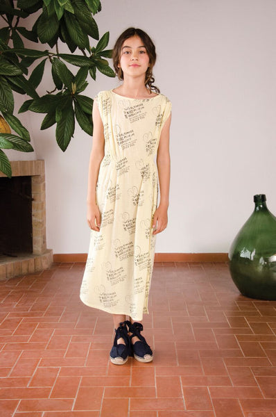 The Animals Observatory Marten Dress | Soft Yellow
