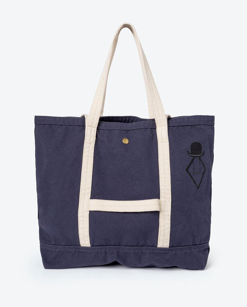 The Animals Observatory Big Tote Bag | Navy