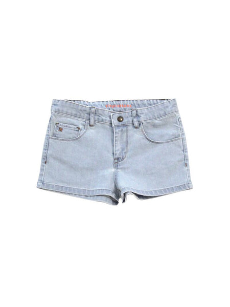 Tiny Cottons Bleached Jean Shorts