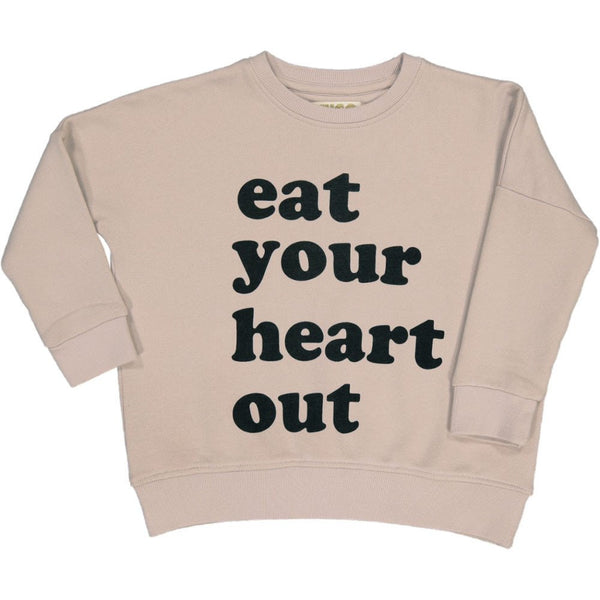 Hugo Loves Tiki Eat Your Heart Out Wide Sweatshirt [ADULT]