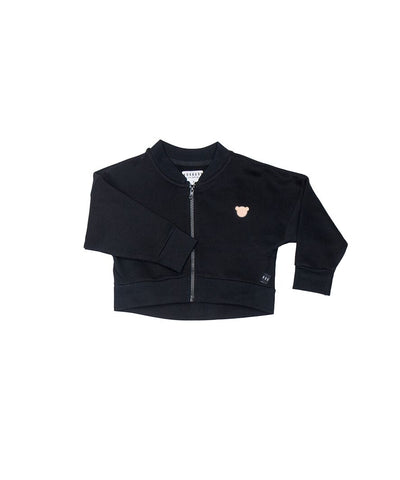 Huxbaby Black Balloon Jacket