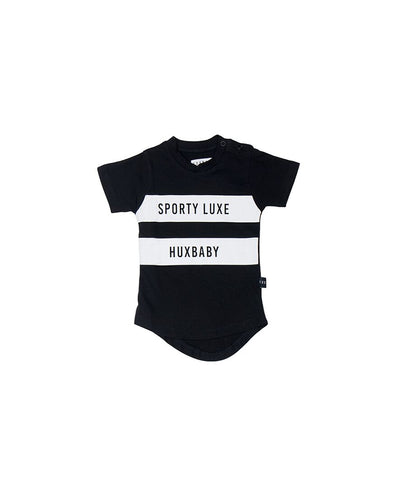 Huxbaby Sports Stripe T-Shirt