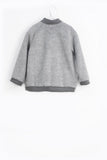 Motoreta Yuko Bomber grey fake fur [LAST ONE]