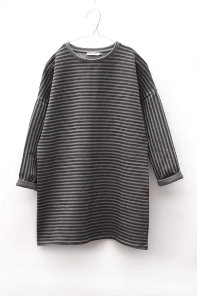 Motoreta Telma Dress grey & black stripes