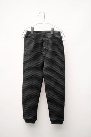 Motoreta Textured Trousers black