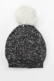 Motoreta Knitted Hat | Marbled Black