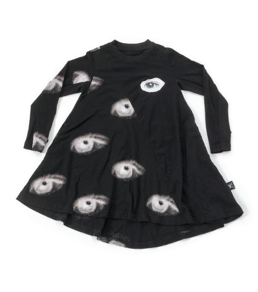 Nununu FW 17 Eye 360 Dress- Black
