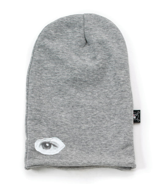 Nununu FW 17 Solid Beanie Hat- Heather Grey