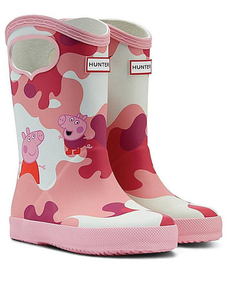 Original Kids First Peppa Pig Grab Handle Rain Boots