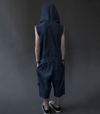 NUNUNU Denim Asymmetrical Overall[LAST ONE]