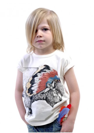 Rock Your Baby Tukota Bison Tee