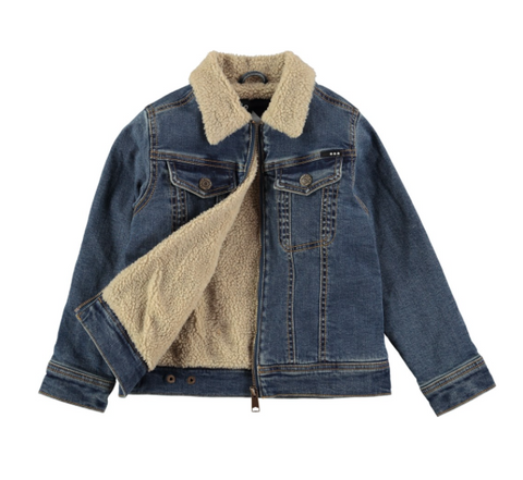 Molo Halvdan Worn Denim Jacket