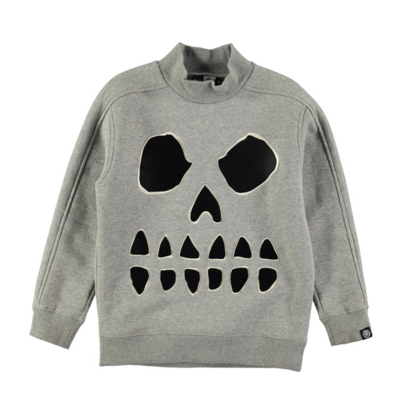 Molo Magne Grey High neck sweatshirt