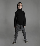 NUNUNU Deconstructed Baggy Pants | Dark Grey [LAST ONE]