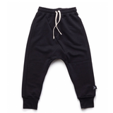 NUNUNU Diagonal Sweat Pants | Black [LAST ONE]