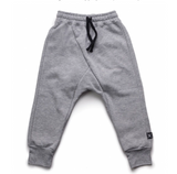 NUNUNU Diagonal Sweat Pants | Heather Grey