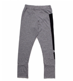 NUNUNU Patch Exclamation Leggings | Heather Grey