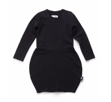 NUNUNU Balloon Dress | Black