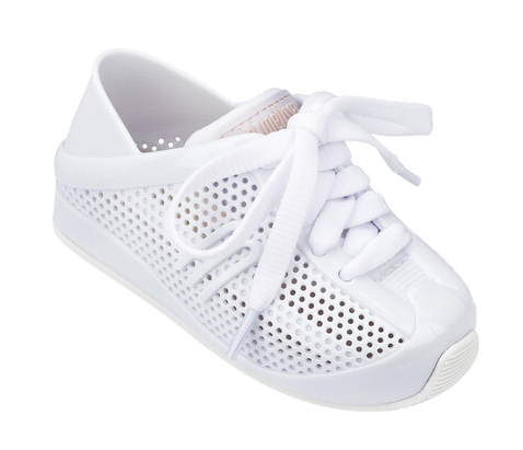 Mini Melissa Love System Shoe | White