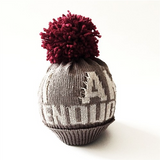 Prjona Plym I Am Enough Knitted Pom Hat