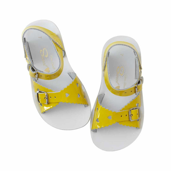 Salt Water Sandals Surfer - Sweetheart Yellow
