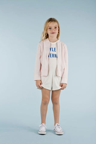 Tiny Cottons Holes Bomber Jacket