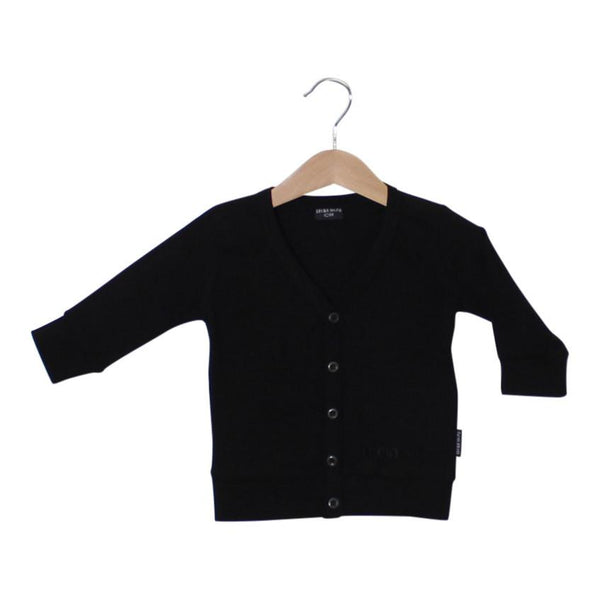 Lucky no 7 Black Cardigan