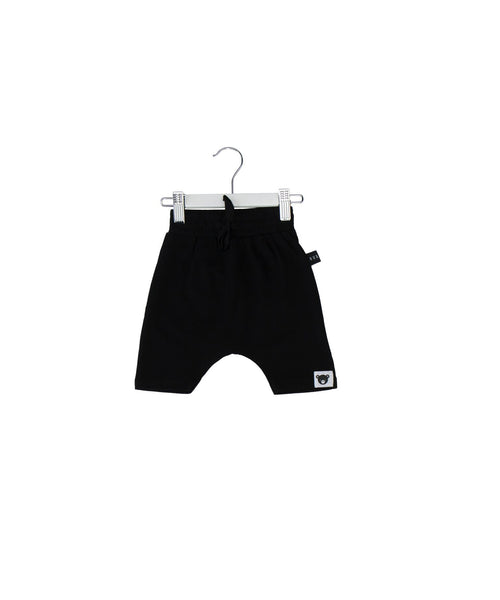 Huxbaby SS17 Black Drop Crotch Shorts