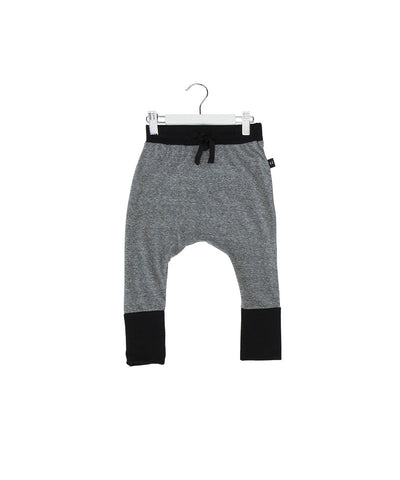 Huxbaby SS17 High Cuff Pants in Charcoal