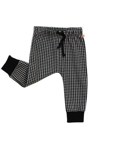 Tiny Cottons easy houndstooth pant