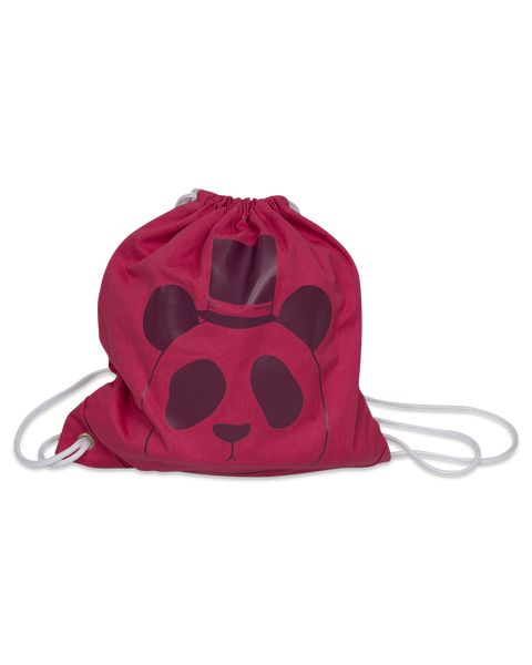 Mini Rodini Panda print bag in Pink