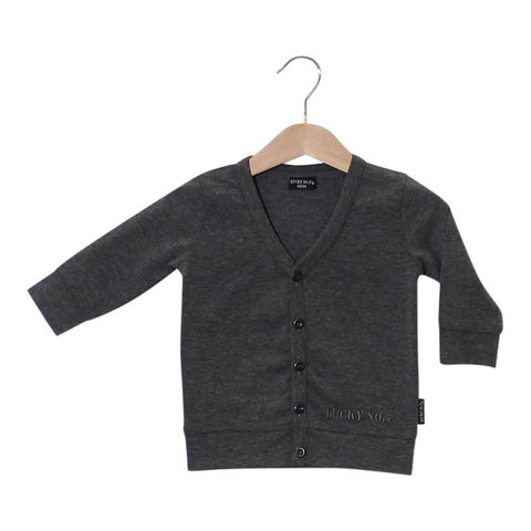Lucky no 7 grey cardigan