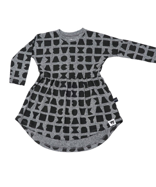 Huxbaby Block Swirl Dress