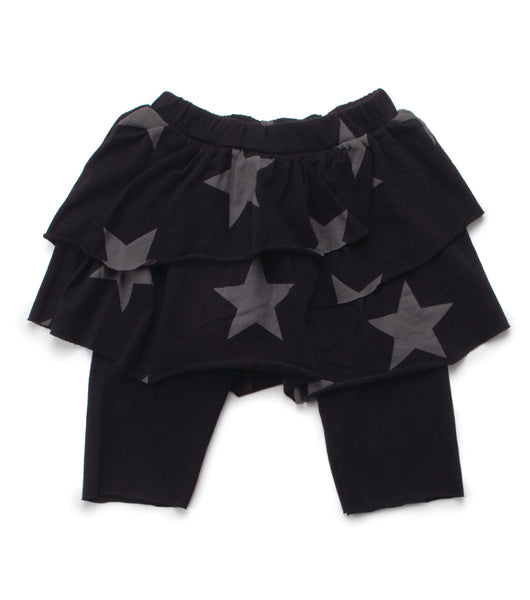 Nununu SS17 Star Leggings Skirt in Black
